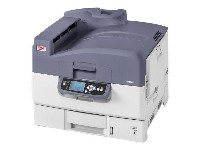 Image of OKI C9655dn - printer - colour - LED
