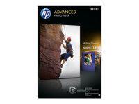 HP Advanced Glossy Photo Paper Skinnende 100 x 150 mm 250 g/m²