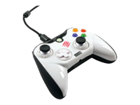 Mad Catz Pro Game pad kabling hvid for Microsoft Xbox 360