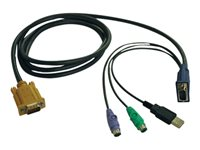 TRP Cable USB y PS/2 para KVM Serie B020-U08/B022-U16 1.82m
