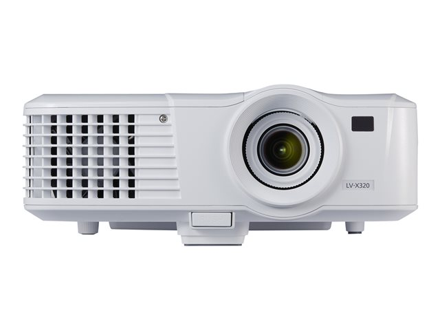 0910c003 canon lv x320 dlp projector portable for Dlp portable projector