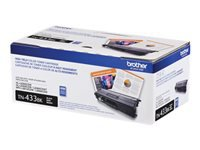 Brother TN-433BK - High Yield - black - original - toner cartridge - for Brother HL-L8260CDW, HL-L8360CDW, HL-L8360CDWMT, HL-L8360CDWT, MFC-L8610CDW, MFC-L8900CDW