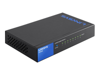 Linksys LGS108 Switch ikke administreret 8 x 10/100/1000 desktop