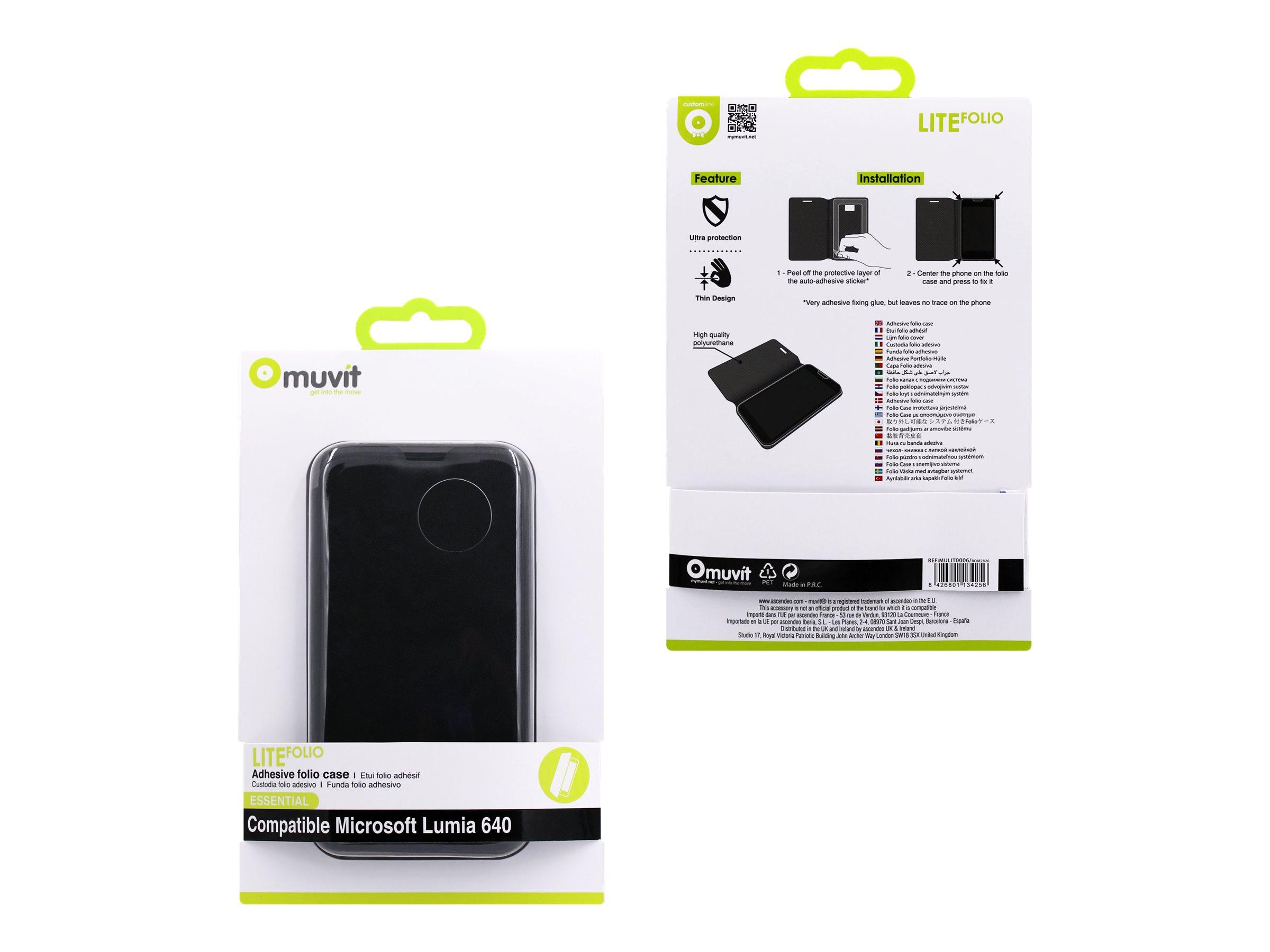muvit mulit0006 protection rabat pour t l phone portable etuis smartphones. Black Bedroom Furniture Sets. Home Design Ideas