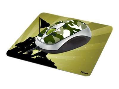 trust mini mouse with mousepad