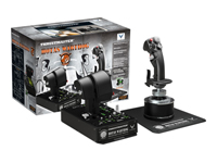 Thrustmaster HOTAS Warthog Joystick og speeder kabling for PC
