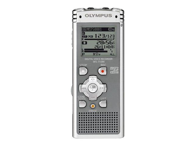 Olympus digital voice recorder ws - 750m