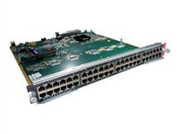 Catalyst 6500 48-Port 10/100, Upgradable to Voice, RJ-45