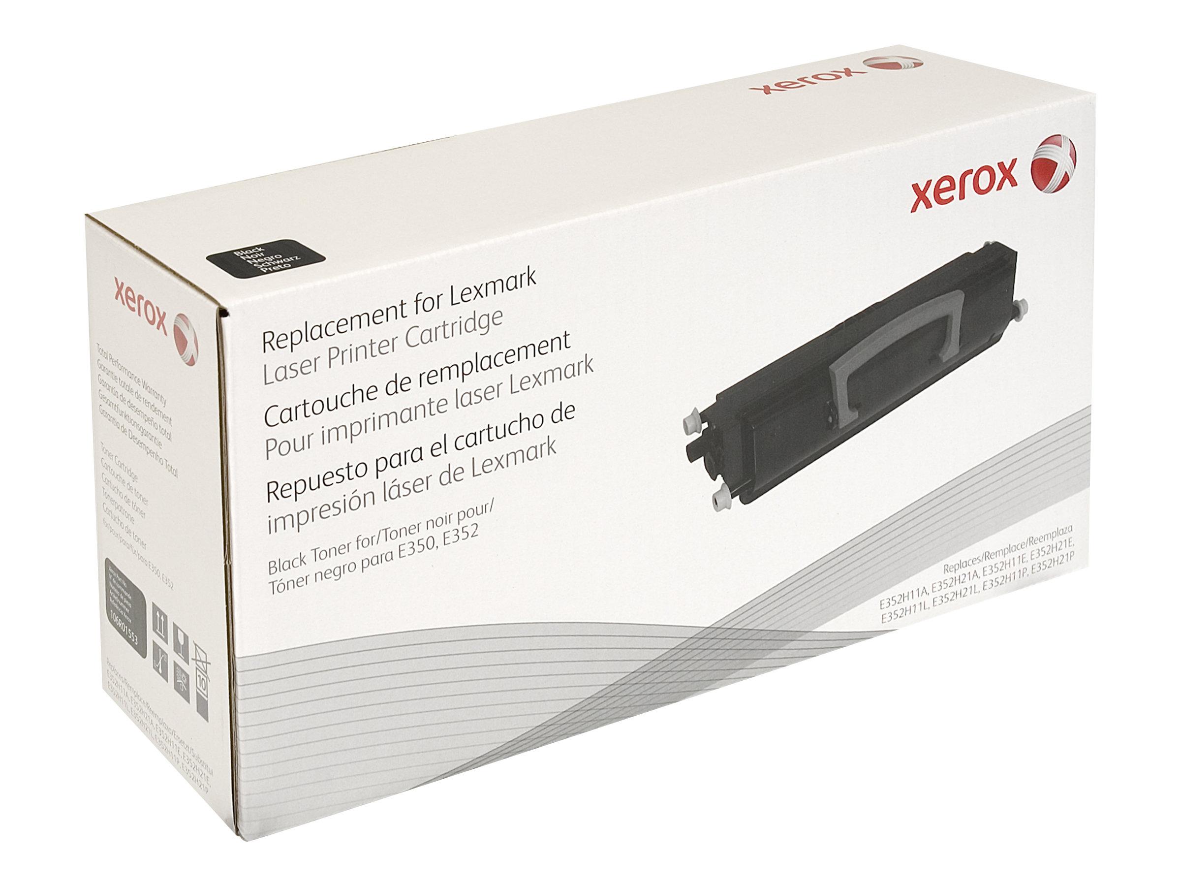 Xerox - noir - cartouche de toner (équivalent à : Lexmark E352H11E, Lexmark 0E352H21E)