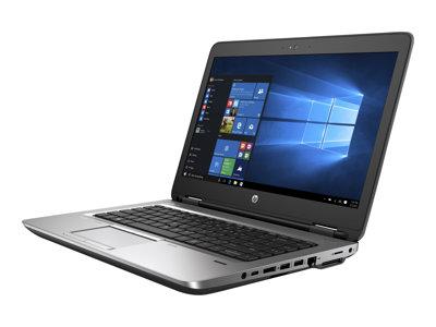 """HP ProBook 640 G2 - Core i5 6300U / 2.4 GHz - Win 7 Pro 64-bit (includes Win 10 Pro 64-bit License) - 8 GB RAM - 500 GB HDD - DVD - 14"""" 1366 x 768 (HD) - HD Graphics 520 - Wi-Fi, Bluetooth - kbd: US"""