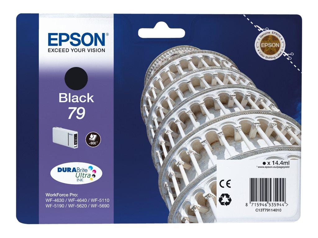 Epson T79 - tour de pise - noir - originale - cartouche d'encre