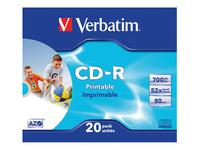 Verbatim DataLifePlus - CD-R x 20 - 700 Mo - support de stockage