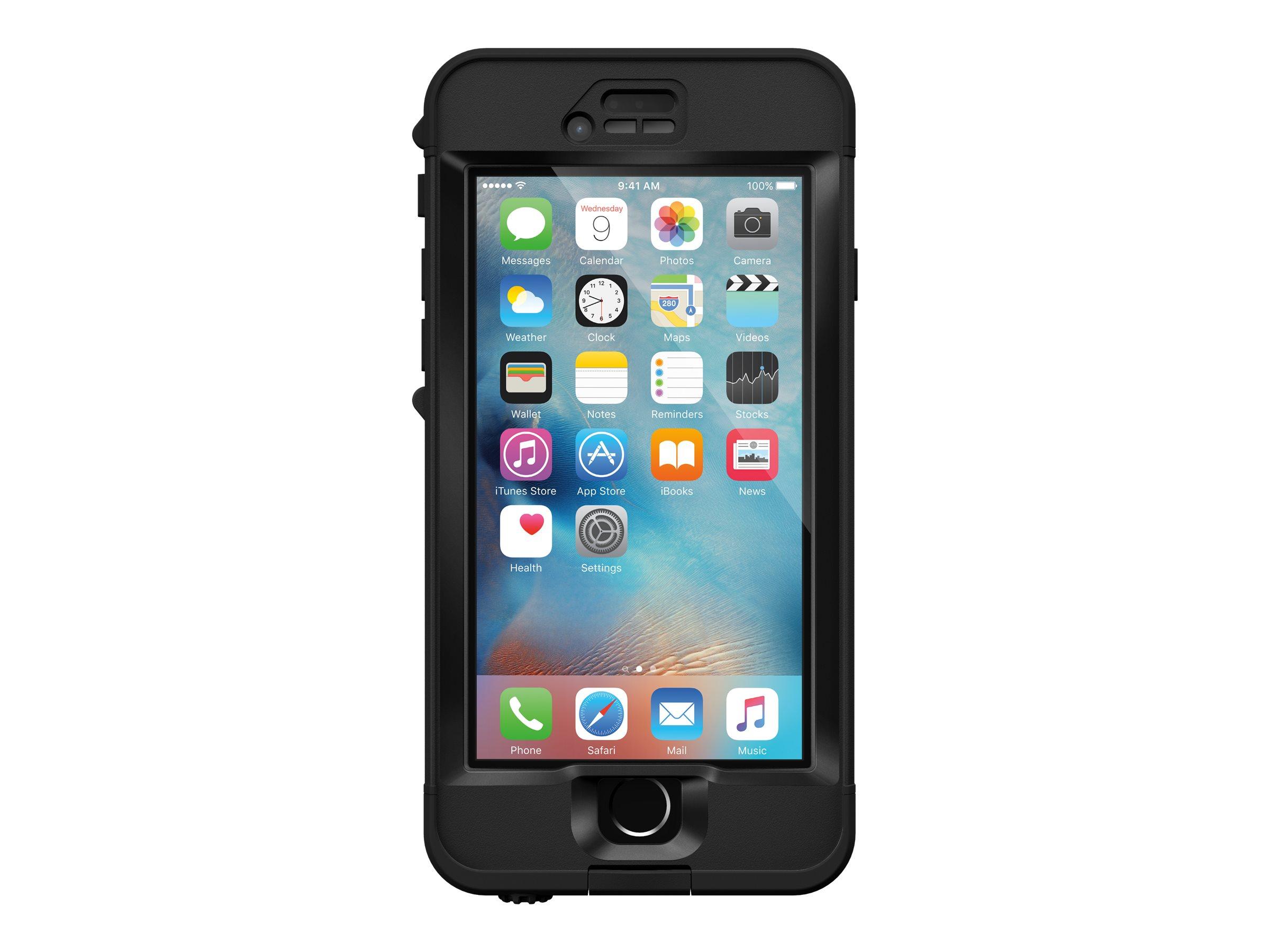 LifeProof NûûD - Étui de protection étanche pour iPhone 6s - noir