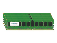 Crucial - DDR4 - 32 Go : 4 x 8 Go - DIMM 288 broches