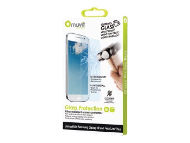 Muvit - 1 film de protection d'écran - verre trempé - pour Samsung GALAXY Grand Lite