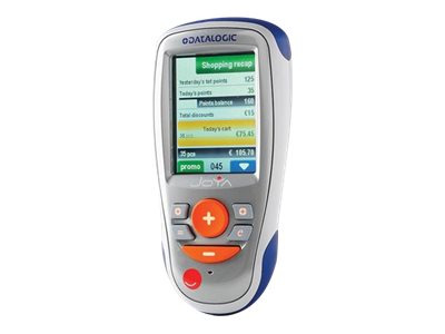 """Datalogic Joya X1 Basic - Data collection terminal - Win CE 6.0 - 512 MB - 2.8"""" color TFT (320 x 240) - barcode reader - (CCD) - Wi-Fi - available in different colors"""