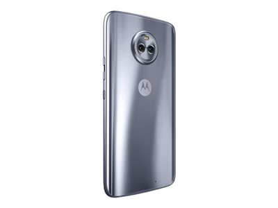 "Motorola Moto X (4th Gen.) - Smartphone - 4G LTE - 32 GB - microSDXC slot - CDMA / GSM - 5.2"" - 1920 x 1080 pixels (424 ppi) - LTPS IPS - RAM 3 GB - 12 MP (16 MP front camera) - Android - sterling blue"