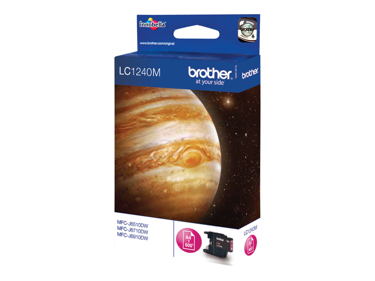 Brother LC1240M - magenta - originale - cartouche d'encre