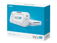 Nintendo Wii U Basic Pack Spilkonsol  8 GB flash hvid