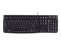 Teclado LOG K120 USB 1.8mts Antiderrames Win/Lin
