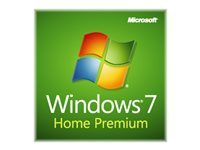 Microsoft Windows 7 Home Premium w/SP1 Licens 1 PC OEM DVD 64-bit