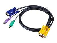 Aten 2L-5201P PS/2 KVM Cable(1.2m)