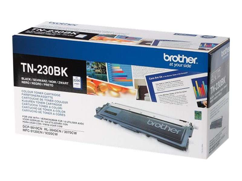 Brother TN230BK - noir - originale - cartouche de toner