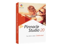Pinnacle Studio (v. 20) bokspakke 1 bruger Win Multi-Lingual
