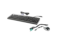 HP Washable - Keyboard and mouse set - PS/2, USB - English - US - for HP 260 G2; EliteDesk 800 G1; ProDesk 600 G1; ProOne 600 G1; Retail System MP9 G2