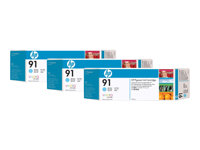 HP  91 3-ink MultipackC9486A