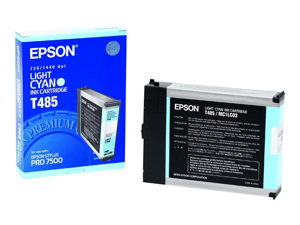 Epson T485 - cyan clair - originale - cartouche d'encre