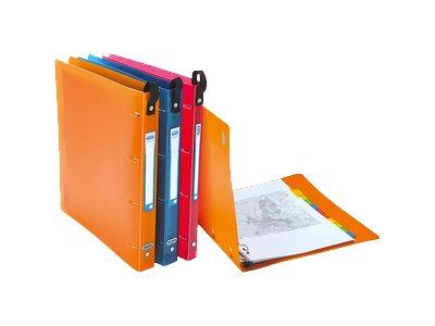 ELBA School Life - Classeur à anneaux - 20 mm - A4 - pour 100 feuilles - disponible dans différentes couleurs
