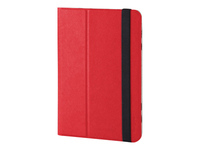 Targus Universal Foliostand Flipomslag til tablet polyurethan rød