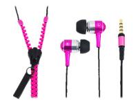 """LogiLink """"Zipper"""" Stereo In-Ear Headset Headset i øret kabling"""
