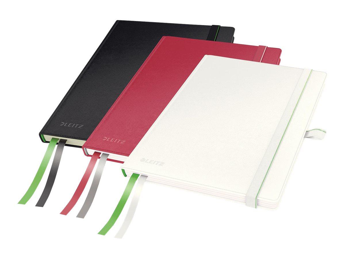 Leitz Complete - Cahier - A5 - 160 pages - réglé - disponible dans différentes couleurs