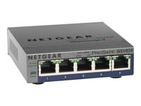 NETGEAR ProSafe Plus GS105Ev2 - commutateur - 5 ports - non géré - Ordinateur de bureau