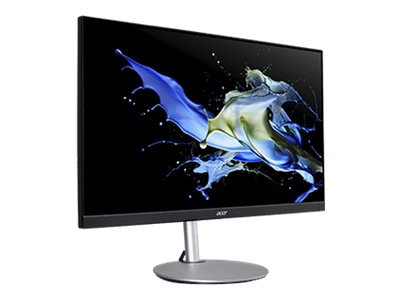 """Image de Acer CB272 smiprx - Écran LED - 27"""" - 1920 x 1080 Full HD (1080p) @ 75 Hz - IPS - 250 cd/m² - 1000:1 - 1 ms - HDMI, VGA, DisplayPort - haut-parleurs - argent"""