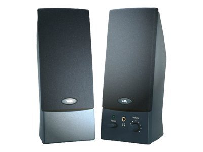 Cyber Acoustics CA-2011wb Speakers - for PC - 4 Watt (total) - black - Speakers - for PC - 4 Watt (total) - black