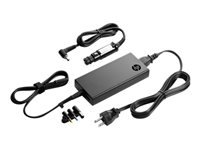 HP Slim Combo Adapter with USB - Power adapter - AC / car - AC 90-264 V - 90 Watt - United States - Smart Buy - for HP 250 G4; Chromebook 14; EliteBook 2570, 725 G2, 745 G2, 755 G2, 820 G1, 820 G2, 840 G1
