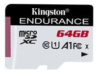 KNG 64GB microSDHC Endurance 95/30MB/s No incluye Adaptador