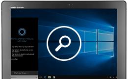 Vea Cortana en acción: