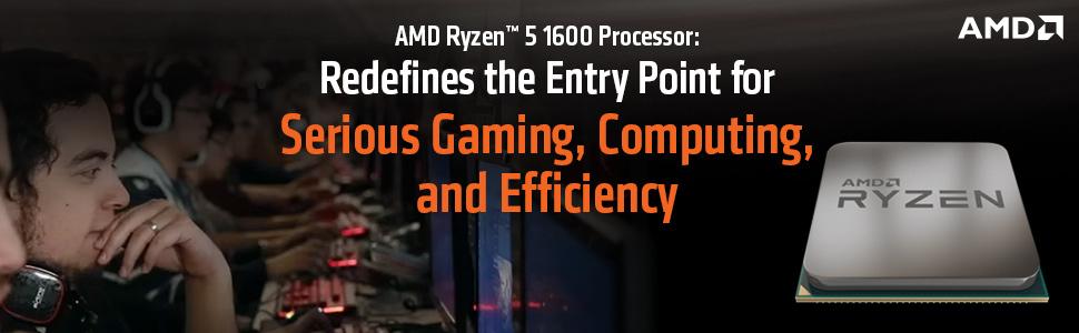 AMD RYZEN 5 1600