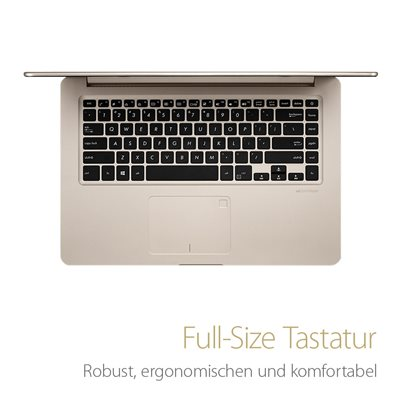 Beleuchtete Full-Size Tastatur