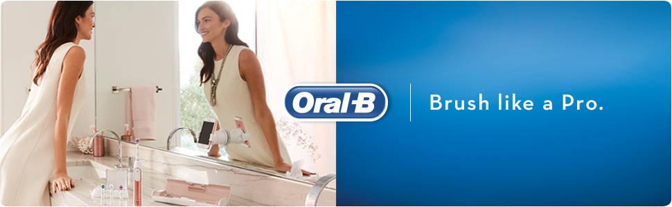 Oral-B Genius 9000 Rose Gold Electric Toothbrush