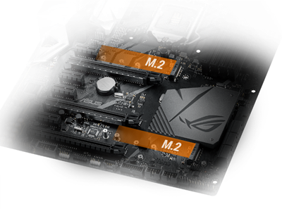 DUALES M.2 MIT PCIE GEN3