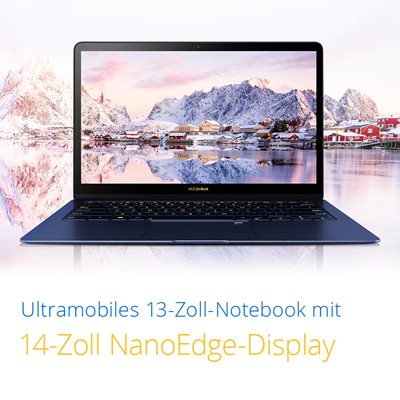 Kratzfestes NanoEdge-Display