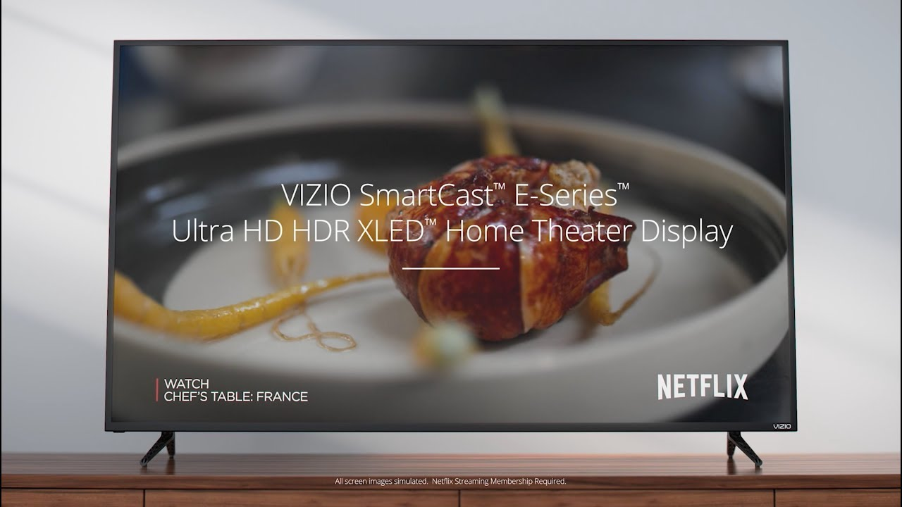 slide 1 of 9,show larger image, 2017 vizio smartcast™ e-series home theater display