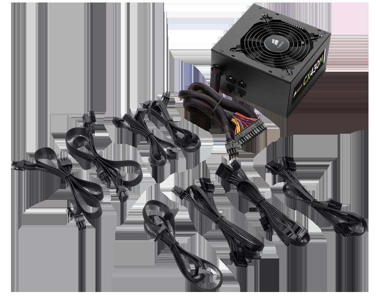 Corsair Cx Series Cp 9020058 Na 430w Modular Power Supply