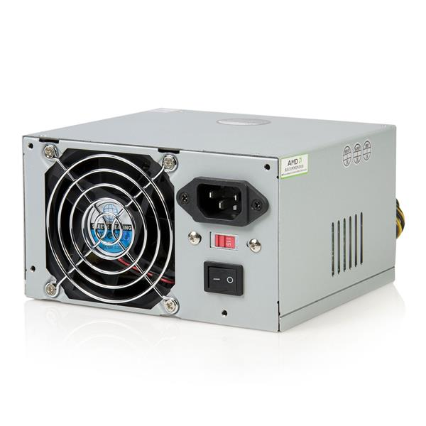 Startech 350 Watt ATX12V 2.01 Computer PC Power Supply w/ 20 & 24 ...