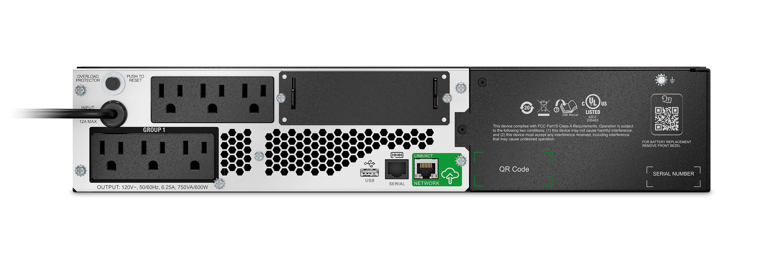 APC Smart-UPS - Li-Ion, 600 Watts / 750 VA Output Power